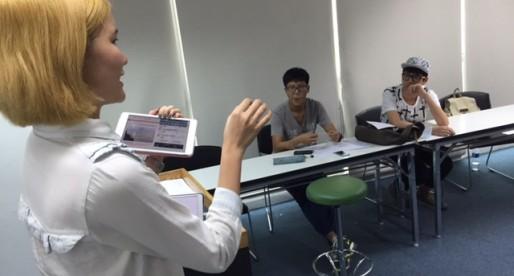 ชั่วโมงเสริมพิเศษในห้องเรียนภาษาญี่ปุ่นเร่งรัด : มีนาคม 2015