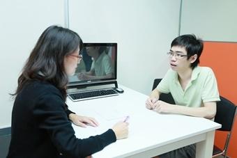 การสอบสนทนา(話すテスト