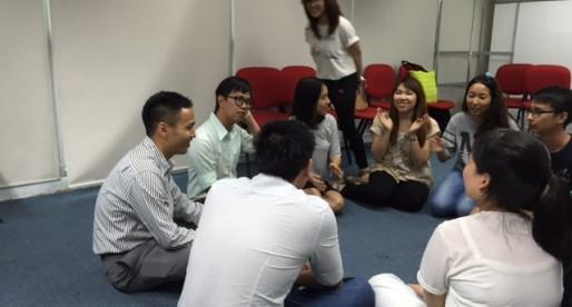 Exchange Corner กิจกรรมแลกเปลี่ยนภาษาและวัฒนธรรม ตอนการละเล่นเด็กไทย