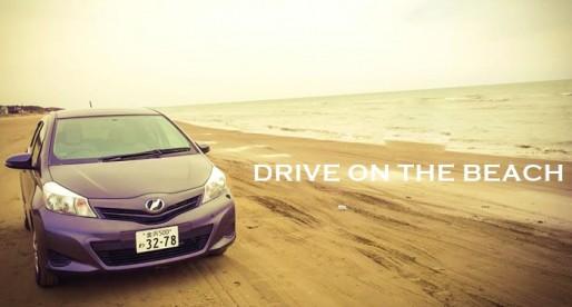 Drive on the beach ขับรถบนหาดทราย…แห่งเดียวในญี่ปุ่น ที่คาบสมุทร โนโตะ