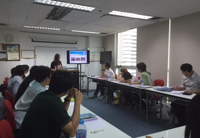 ชั่วโมงเสริมพิเศษในห้องเรียนภาษาญี่ปุ่นหลักสูตรเร่งรัด : มกราคม 2016