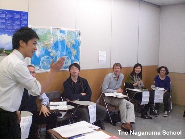 ในห้องเรียน โรงเรียนสอนภาษาที่ญี่ปุ่น