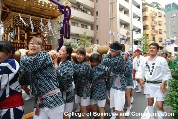 ชีวิตนักเรียน โรงเรียนสอนภาษาที่ญี่ปุ่น ไปงานเทศกาล