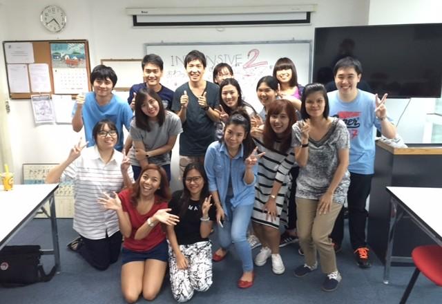 วันจบหลักสูตรของน้องๆนักเรียนภาษาญี่ปุ่นหลักสูตรเร่งรัด