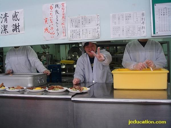 เรียนม.ปลายที่ญี่ปุ่น เตรียมอาหาร