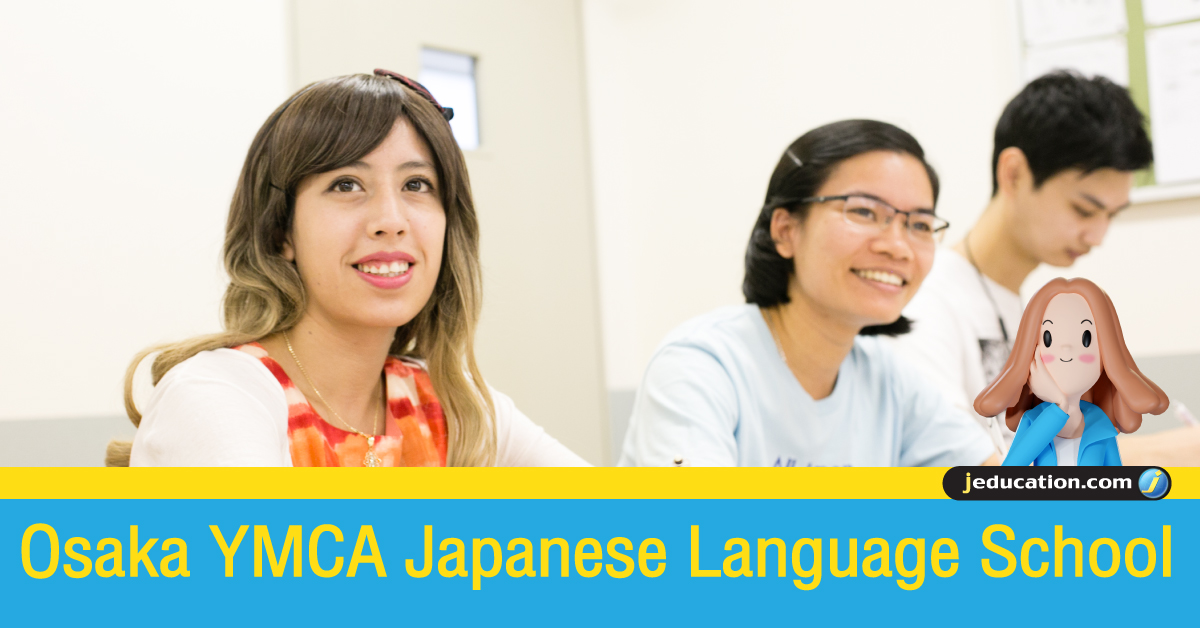 Osaka YMCA japanese language school