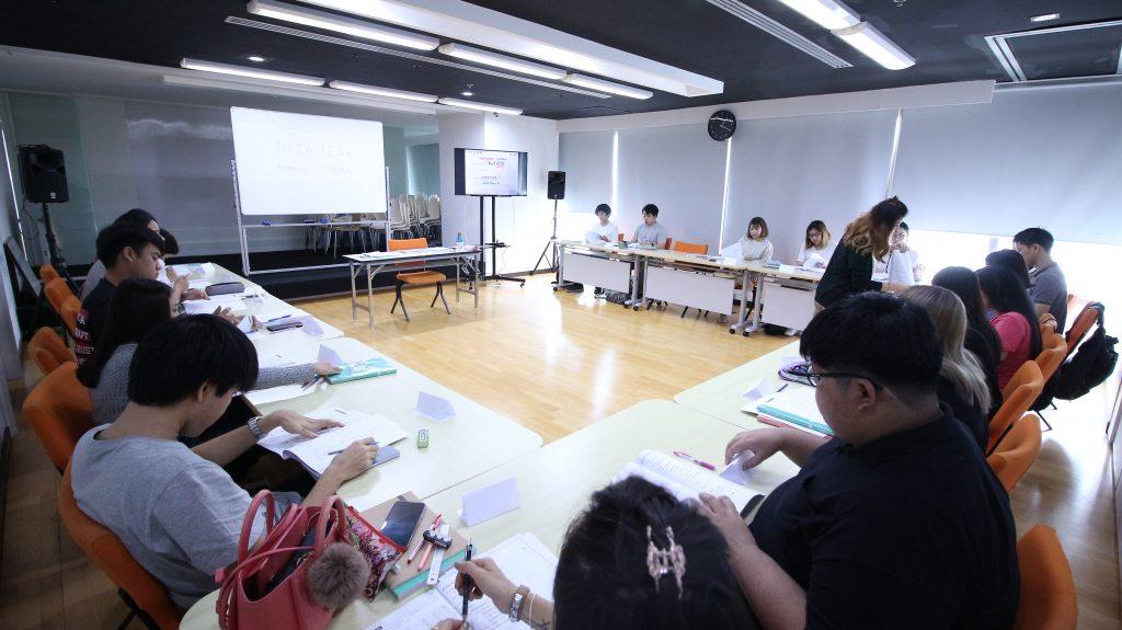 หลักสูตรภาษาญี่ปุ่นเร่งรัด บรรยากาศ อโศก