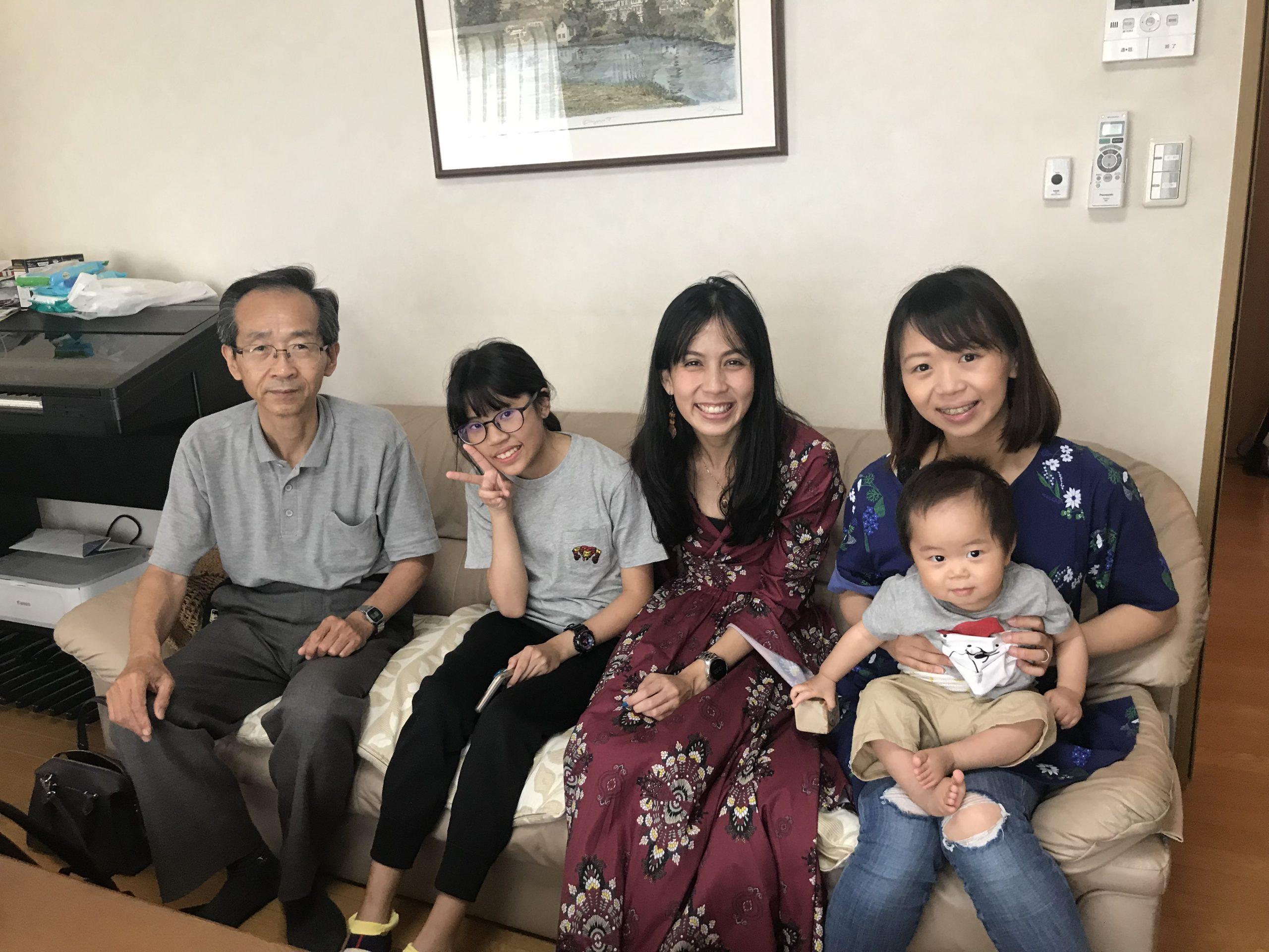 เรียนต่อญี่ปุ่น พัก Homestay